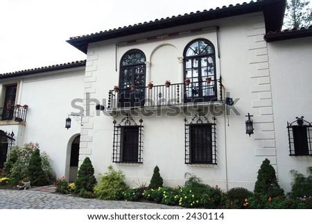 Spanish Villa - stock photo