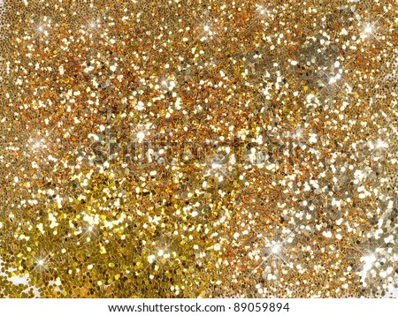 sparkle glitter gold background