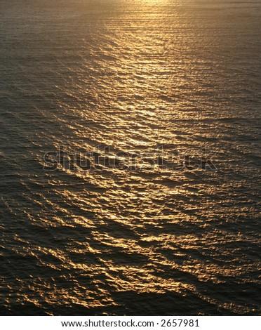 Sparkle Water - stock photo