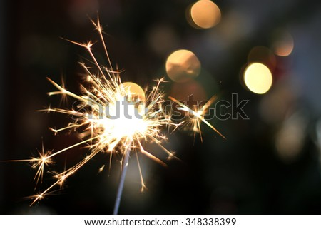 sparklers - stock photo