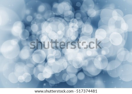 Sparkling Christmas background concept with white lights