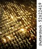 sparkling sequins texture. More of this motif & more sequins in my port. - stock photo
