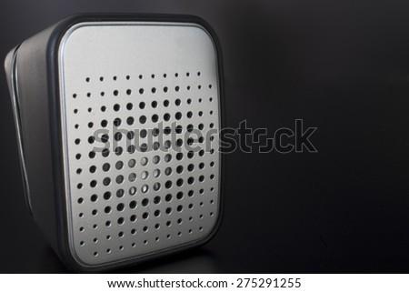 speaker close up - stock photo