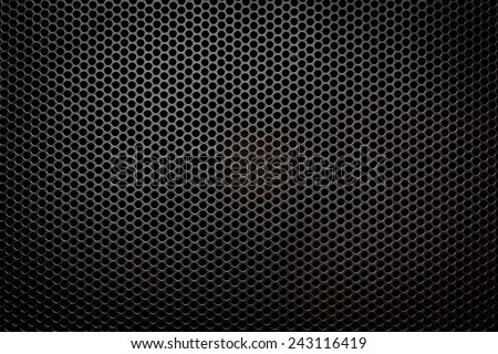 Speaker grill texture - stock photo