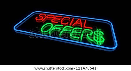 Special Offers - stock photo