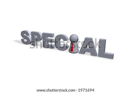 special text in 3d