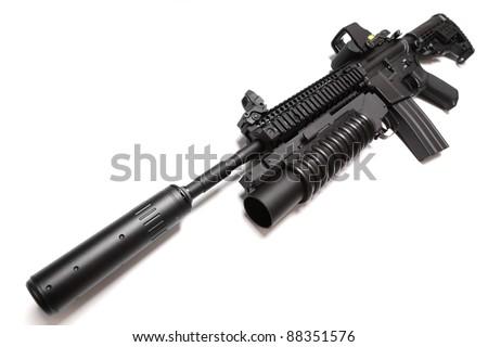 Carbine Silencer Carbine With Silencer