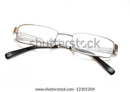 Spectacles isolated on white