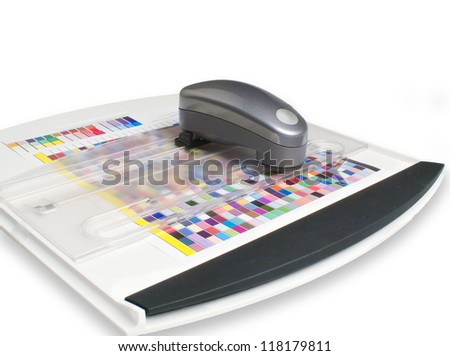 spectrophotometer - stock photo
