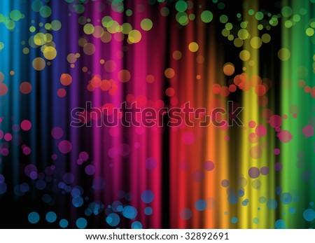 spectrum background - stock photo