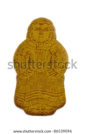 Speculaas doll for Dutch - stock photo