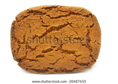 Speculaas dutch cookie