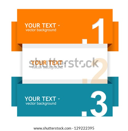 Speech templates for text - stock photo