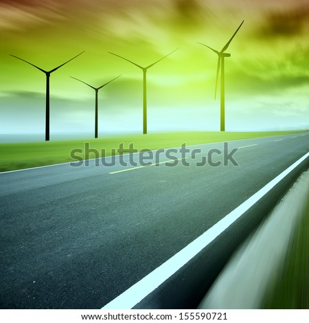 Speed �¢??�¢??highway windmill