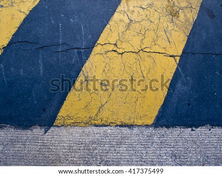 Speed hump - stock photo