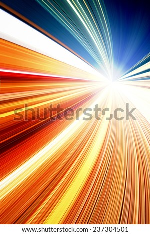 speed motion - stock photo