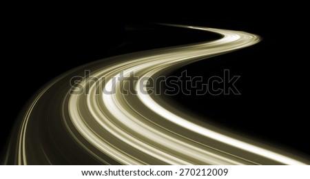 Speed motion - stock photo