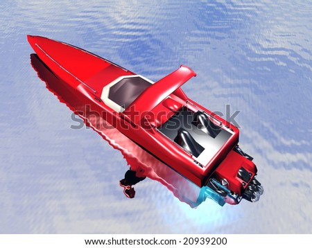 speed motorboat