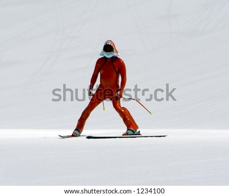 Speed skiing race, Professional world championship
