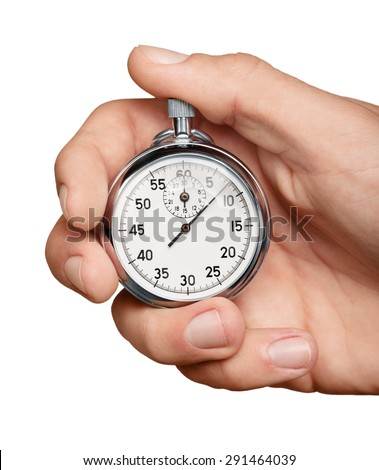 Speed, Stopwatch, Time. - stock photo