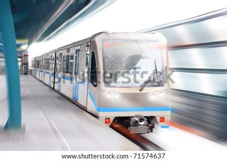 Speed transport - stock photo