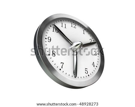 speed up time - stock photo