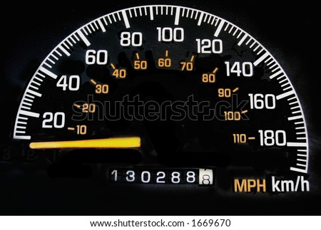 speedometer in miles and kilometers