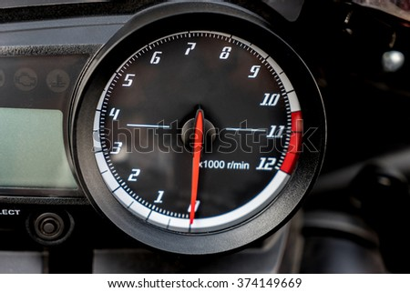 Speedometer Motorcycle