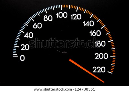 Speedometer Wrapped Top Speed