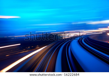 speedway - stock photo