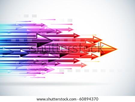 Speedy Arrows - stock photo
