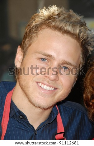 Spencer Pratt at the Los Angeles Mission's Christmas Eve Dinner for the Homeless. Los Angeles Mission, Los Angeles, CA. 12-24-07 - stock photo