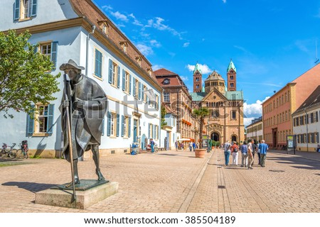 Speyer, Cathedrale - stock photo