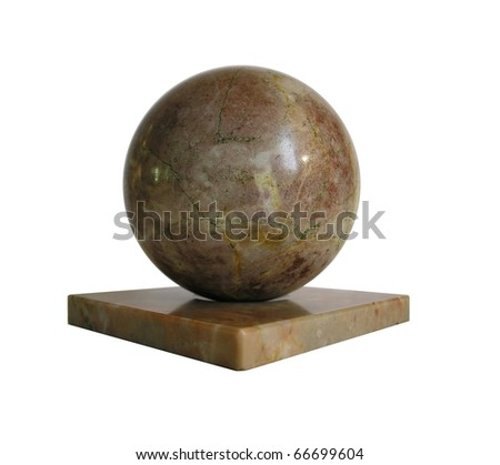 Sphere from a stone