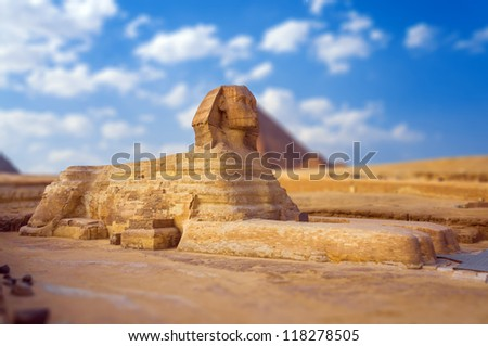 sphinx - stock photo