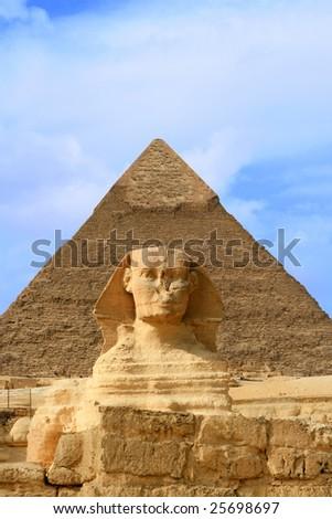 Sphinx, Cairo, Egypt - stock photo