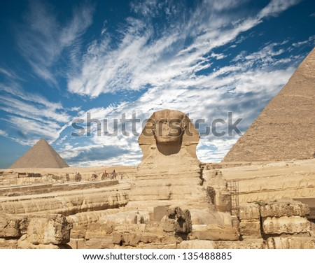 Sphinx. Egypt. - stock photo