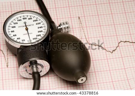 Sphygmonanometer - stock photo