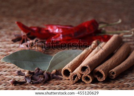 Spice - stock photo
