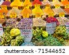 Spice bazaar shops in Istanbul. Turkey. - stock photo