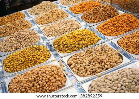Spice market in Middle East