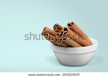 Spice, plate, collection. - stock photo