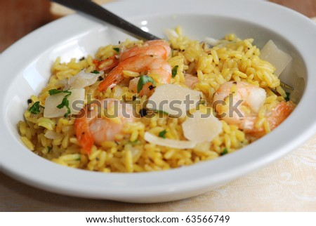 Spiced prawn and coconut pilaf