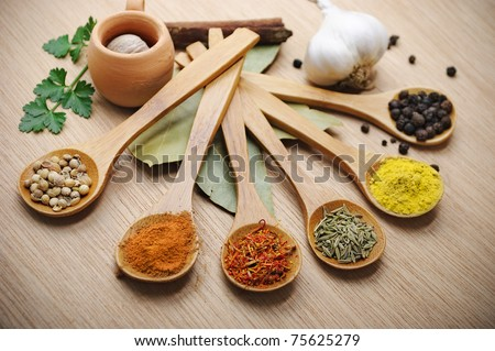 Spices - stock photo
