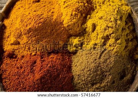 spices close up - stock photo