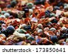 Spices mix background - stock