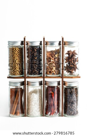 spices, spice, pimento, seasoning - stock photo