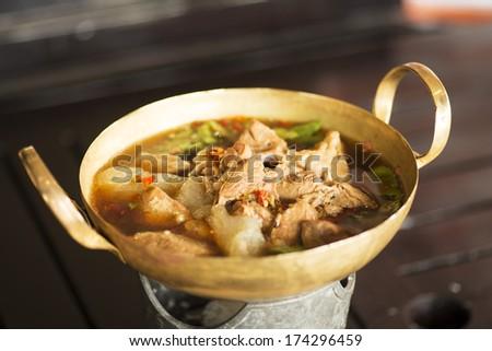 Spicy Beef - stock photo