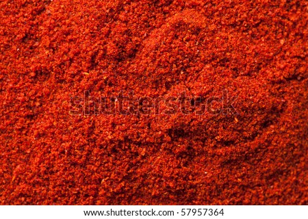 spicy chili powder - stock photo