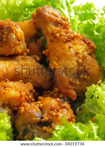 spicy fried chicken